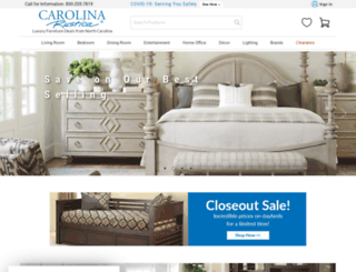 carolinarustica.com screenshot