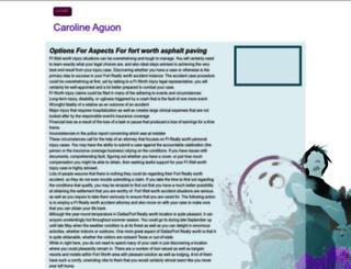 carolineaguon.tripod.com screenshot