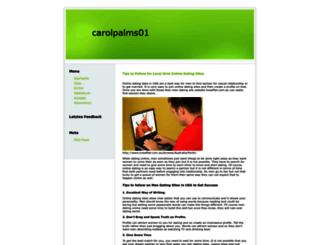 carolpalms01.myblog.de screenshot