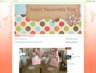 carolspapercrafts.blogspot.com screenshot