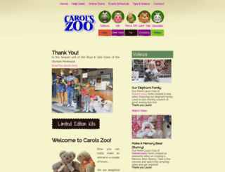 carolszoo.secure-mall.com screenshot