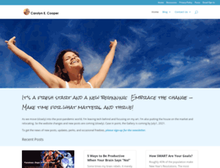 carolynecooper.com screenshot