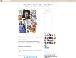carolynedwards.blogspot.com screenshot