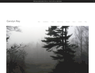 carolynray.com screenshot