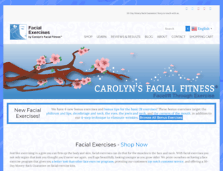 carolynsfacialfitness.com screenshot