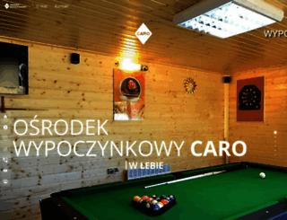 caronoclegi.pl screenshot