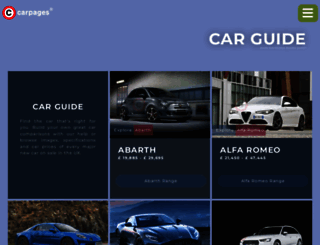 carpages.co.uk screenshot
