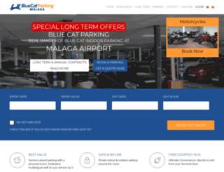 carparkingmalagaairport.com screenshot