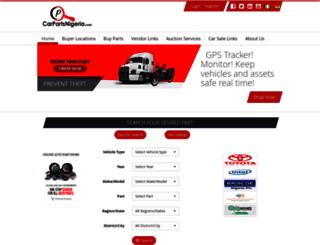 carpartsnigeria.com screenshot