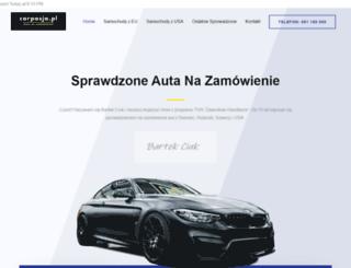 carpasja.pl screenshot