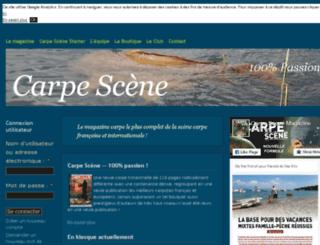 carpe-scene.com screenshot