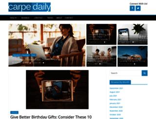 carpedaily.com screenshot