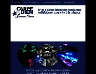 carpediemevents.be screenshot