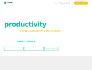 carpedu.com screenshot