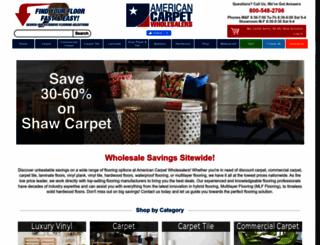 carpet-wholesale.com screenshot