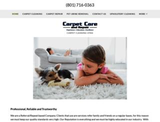 carpetcareandrepair.com screenshot