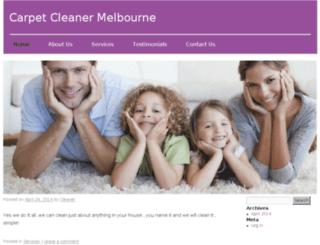 carpetcleanermelbourne.com.au screenshot