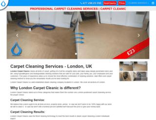 carpetcleanic.co.uk screenshot