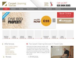 carpetcleaning-forestgate.co.uk screenshot