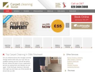 carpetcleaning-stockwell.co.uk screenshot