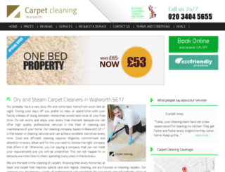 carpetcleaning-walworth.co.uk screenshot