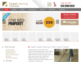 carpetcleaningcoventgarden.co.uk screenshot