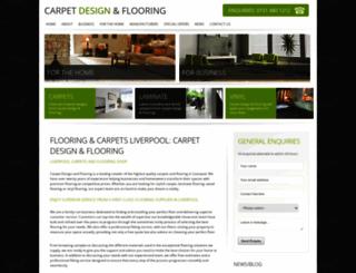 carpetdesignandflooring.co.uk screenshot