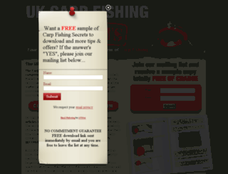 carpfishingsecrets.com screenshot