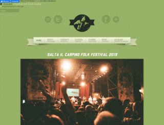 carpinofolkfestival.com screenshot