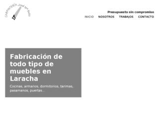 carpinteriajmbello.com screenshot
