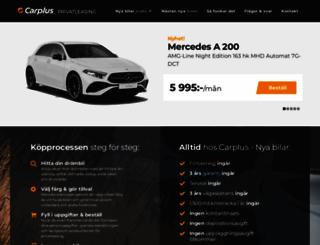 carplus.se screenshot