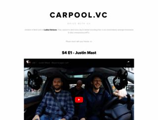 carpool.vc screenshot