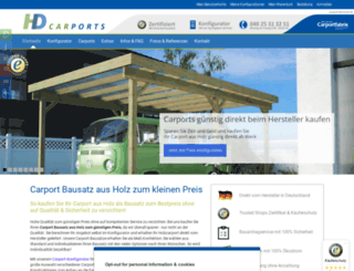 carport-discount.de screenshot