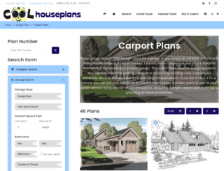 carport.coolhouseplans.com screenshot