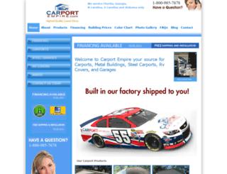 carportempire.com screenshot