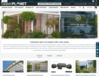 carportplanet.pl screenshot