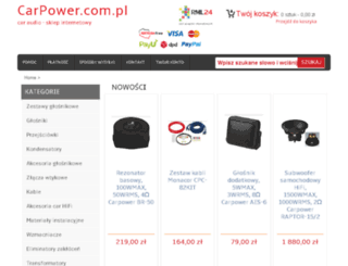 carpower.com.pl screenshot