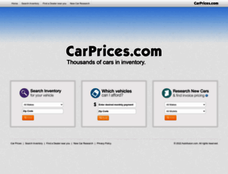 carprices.com screenshot