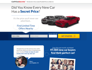 carpricesecrets.com screenshot