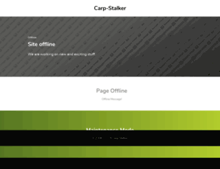 carpstalker.de screenshot