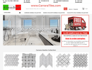 carraratiles.com screenshot