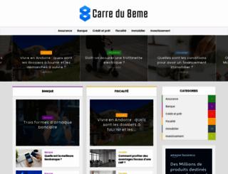 carredu8eme.fr screenshot