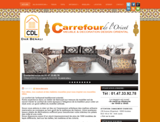 carrefourdelorient.com screenshot