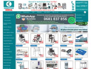 carrefourmedical.kingeshop.com screenshot