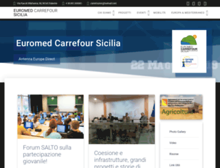 carrefoursicilia.it screenshot