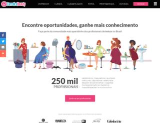 carreirabeauty.com screenshot
