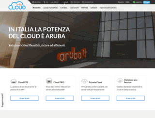 carrello.cloud.it screenshot