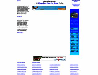 carrental-in.com screenshot