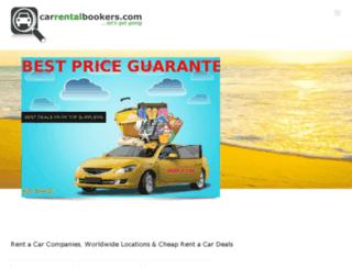 carrentalbookers.com screenshot
