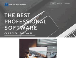 carrentalsoftware.in screenshot